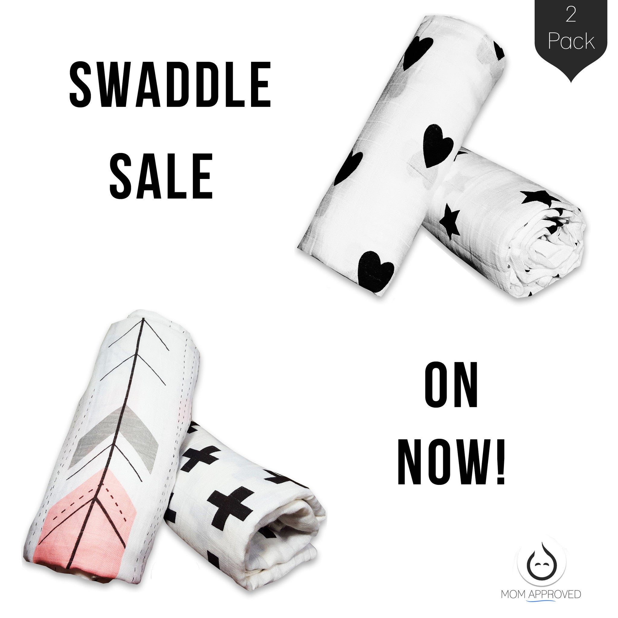 Two Favorite Swaddle Sets on Sale Now!
