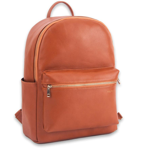 Introducing Our Faux Leather Diaper Backpack