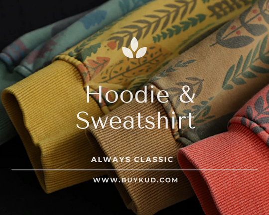 Hoodie & Sweatshirt : A relaxed sense of fashion