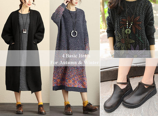 Cover-4 Basic Items For Autumn&Winter