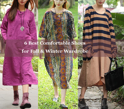 Recommendations: 6 Best Comfortable Shoes for Fall & Winter Wardrobe