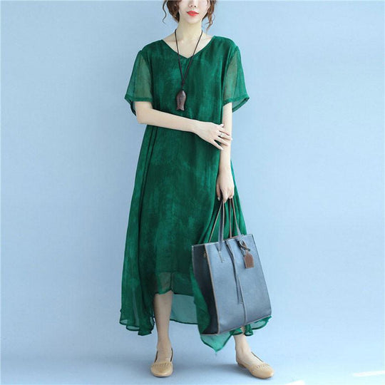 Refresh your summer wardrobe with green dresses