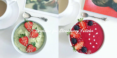 9 Smoothies for Strawberry Fetish