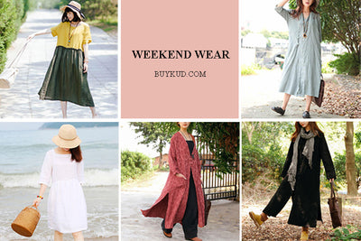 Recommendations: 5 Looks for Your Weekend Plan