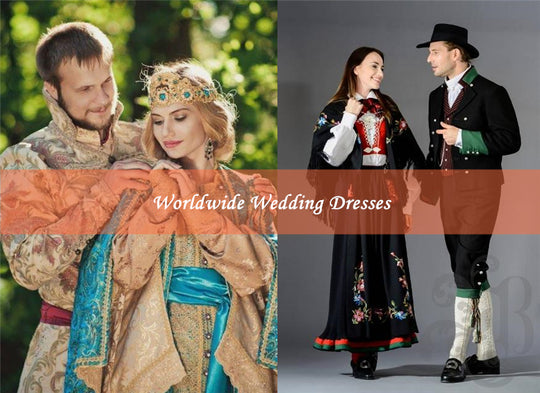 Appreciation of Worldwide Wedding Dresses