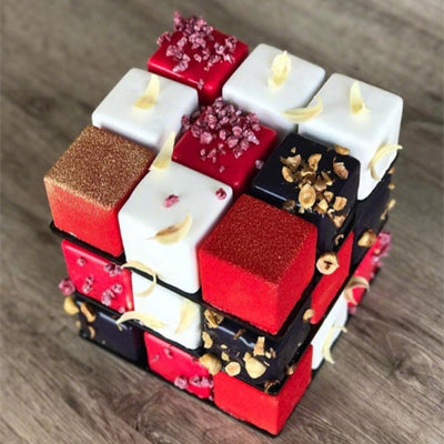 FOOD: Rubik's Cube or Cake
