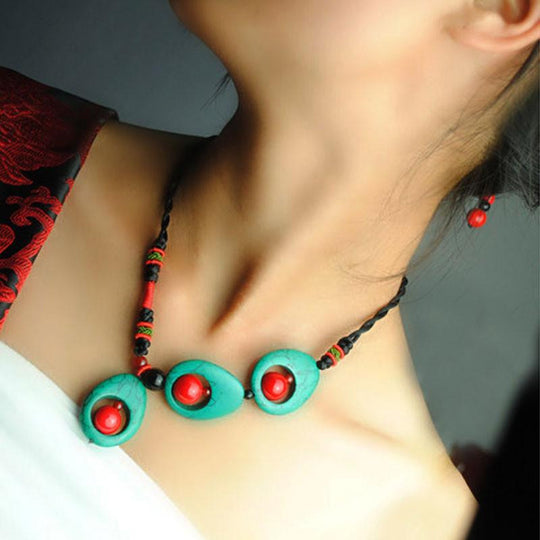 Stylish Design Ethnic Handmade Women Necklace