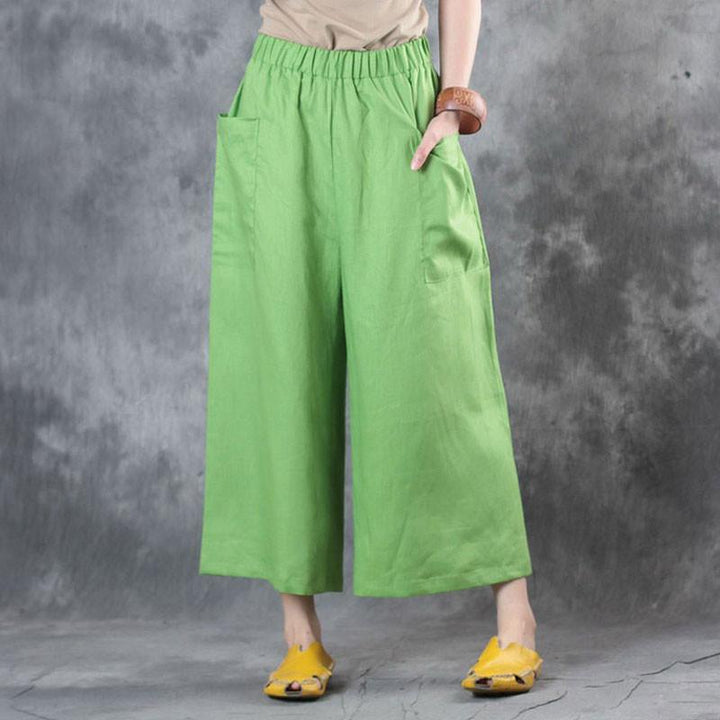 5 Women Casual Loose Bottoms