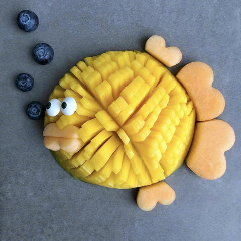 Food Styles: Lovely Fruits Making By A Creative Mom