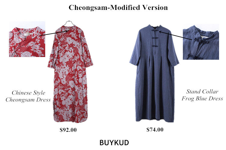 4 Cheongsam-Modified Version