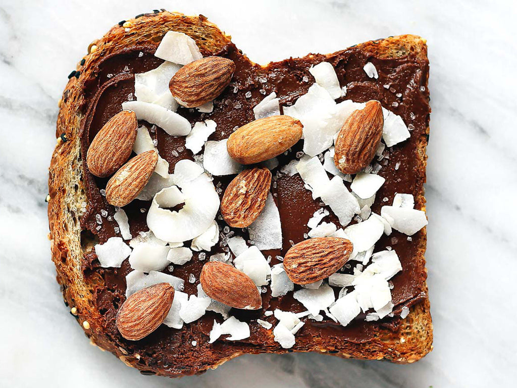 Almond & Coconut Chocolate Toast