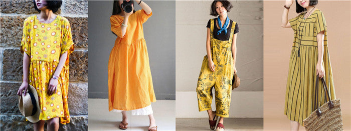 Buykud Collection of Yellow Dresses