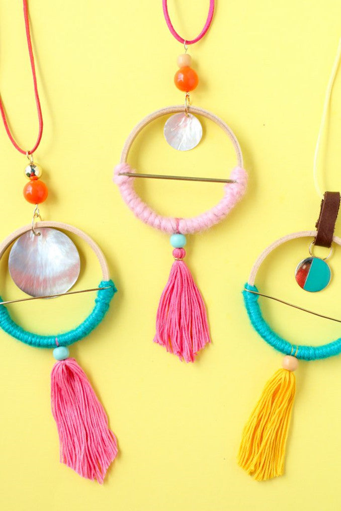 DIY Scandinavian Hoop Necklaces-5