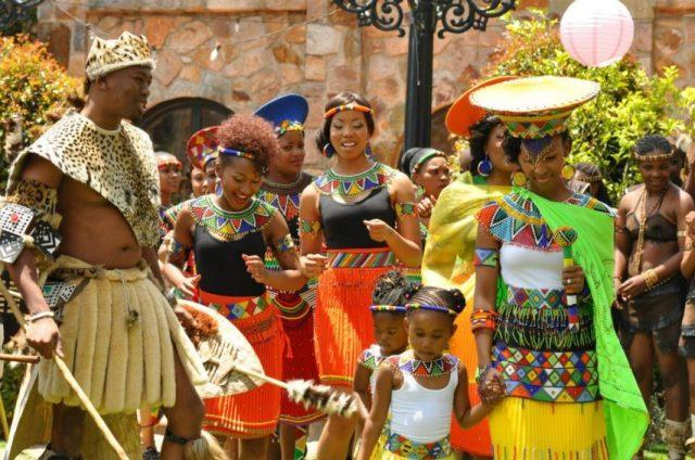 South African Traditional Wedding Dress-1