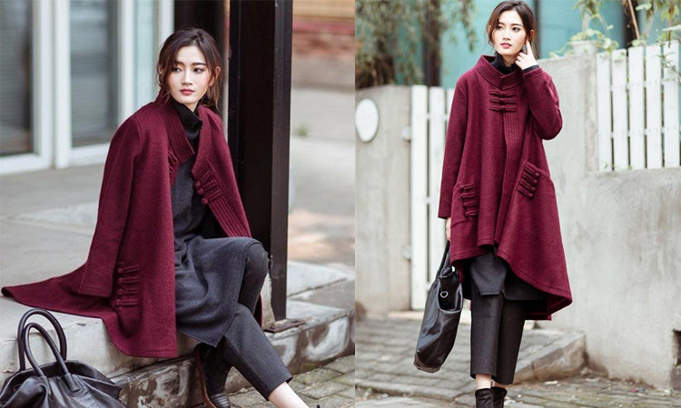Retro Loose Wool Coat