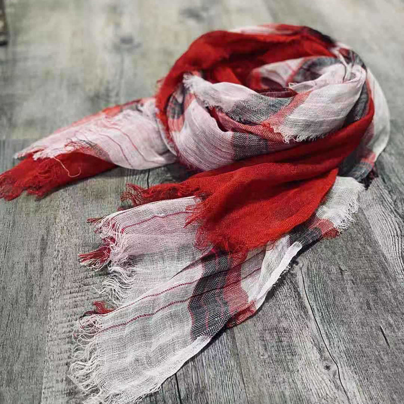 Buykud Retro Casual Burr Soft Comfortable Scarf