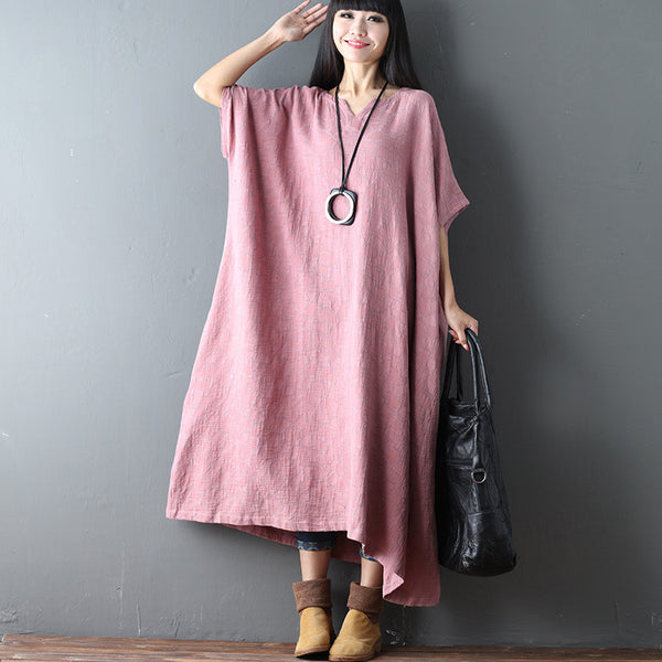Loose Casual Shoulder Sleeves Women Dress