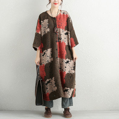 Loose Casual Winter Coat For Women - Buykud