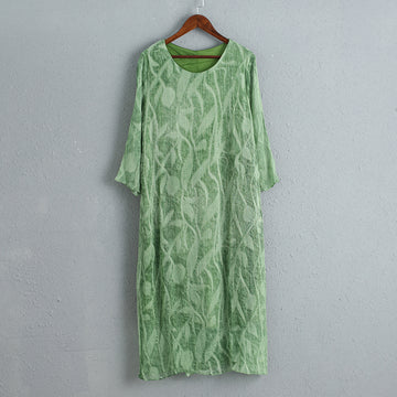 Green Cool Summer Loose Casual Women Dress