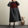 Point Collar Button-Front Long Sleeve Pockets Lattice Coat - Buykud