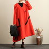 Exquisite Embroidery Women Long Sleeve Irregular Hem Coat - Buykud