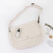Casual Retro Work School Canvas Shoulder Bag