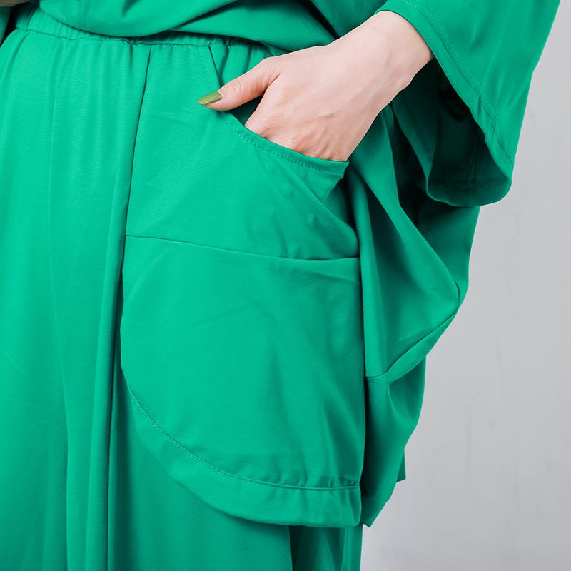 Comfortable Solid Color Big Pockets Bloomers