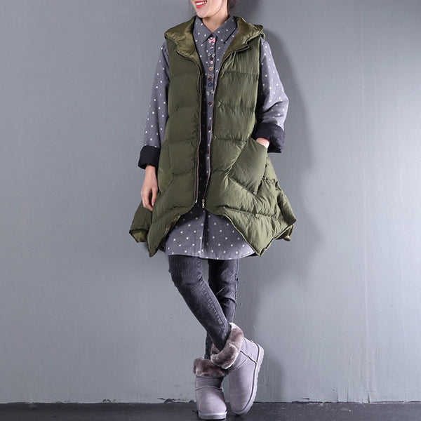Irregular Army Green Jacket