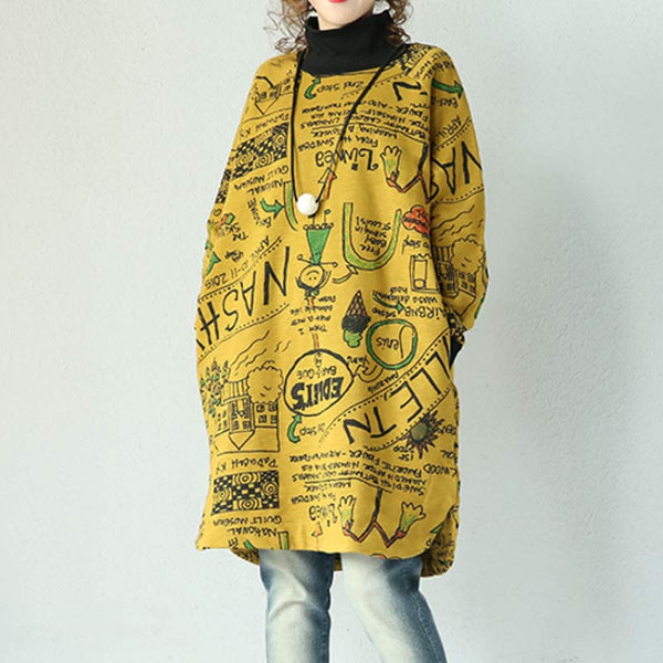 Yellow Knitted Cotton Coat - Buykud