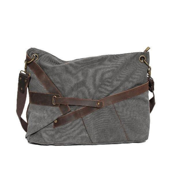 Women Canvas Leather shoulder Bag