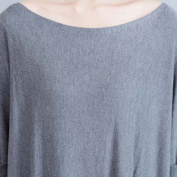 Autumn Slim Thin Knit Sweater