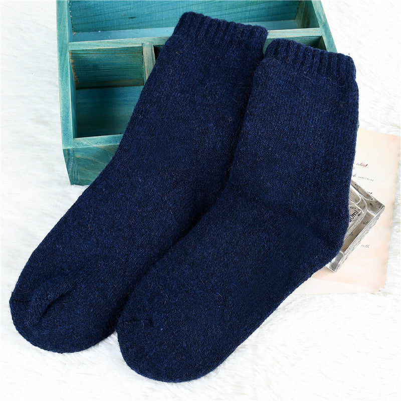 Unisex Casual Thick Warm Knitting Socks - Buykud