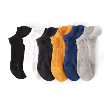 Male Summer Cotton Sports Thin Socks