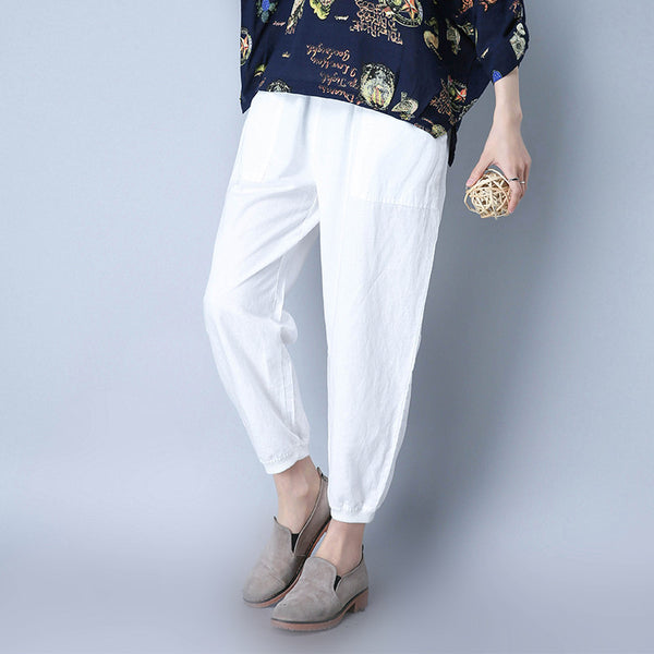 Summer Casual Women Pants