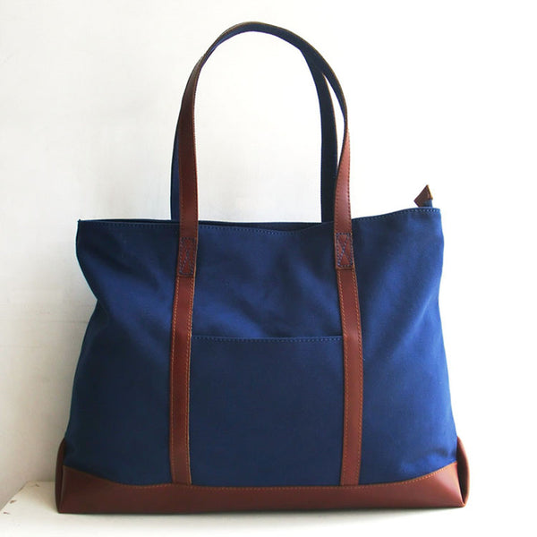 Blue Women Canvas Bag