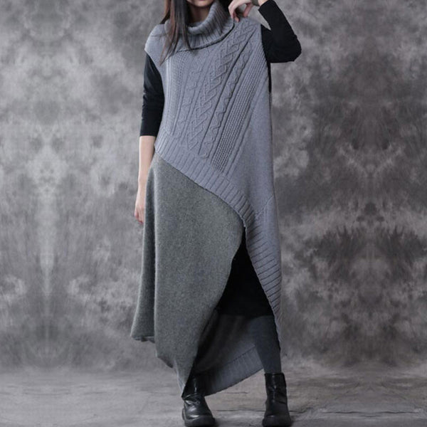 Wool Two Piece Suit Sweater And Dress