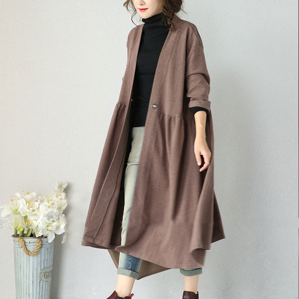 Women Casual Autumn Coat