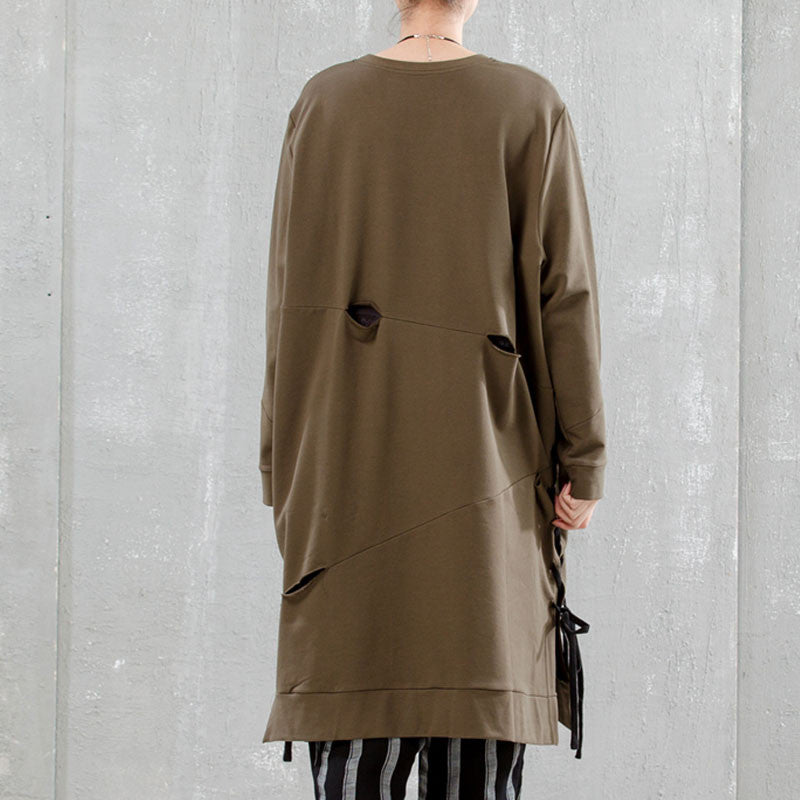 Loose Cotton Women Pullover - Buykud