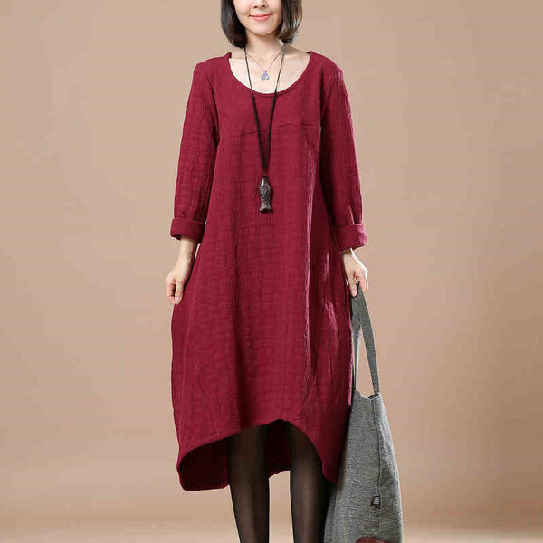 Casual Loose Cotton Linen Long Sleeve