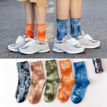 Unisex Female Male Cotton Autumn Socks
