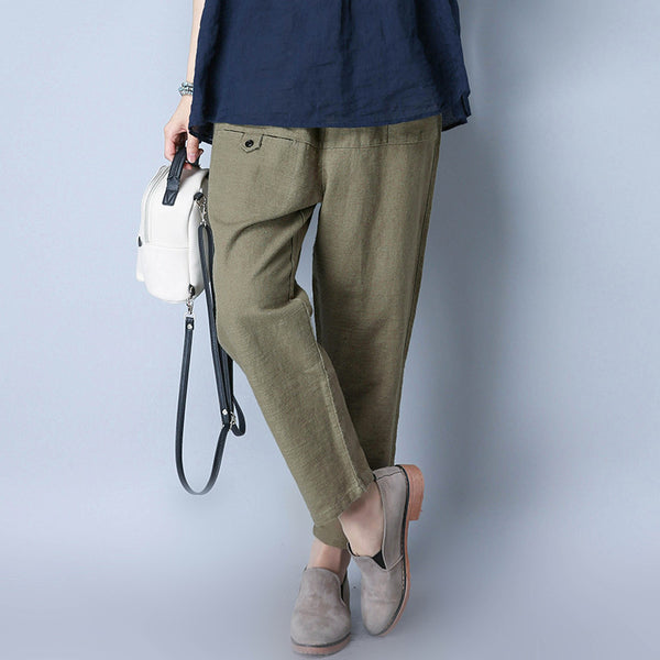 Summer Women Casual Pants