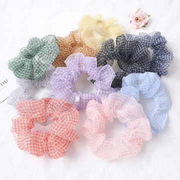 Transparent Adult Chiffon Hair Accessories Rope (10 Pieces or more)