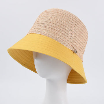 Patchwork Beach Vacation Women Sun Protection Summer Hat