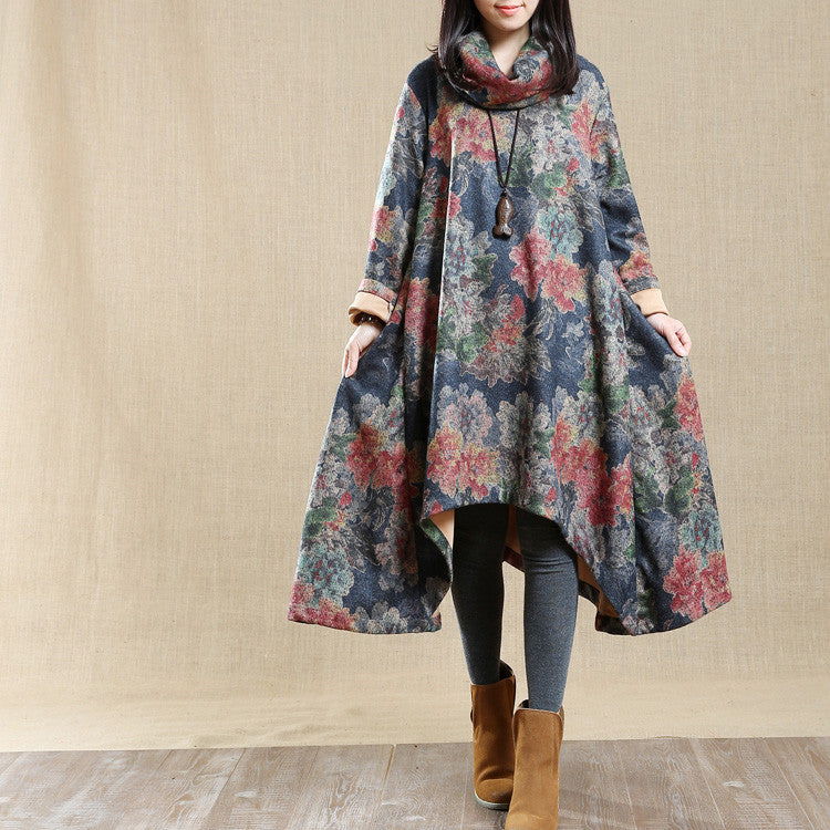 Women Long sleeve autumn dress