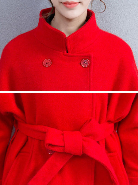 Pocket Woolen Jacket