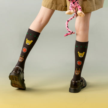 Women Cotton Autumn Student Stockings
