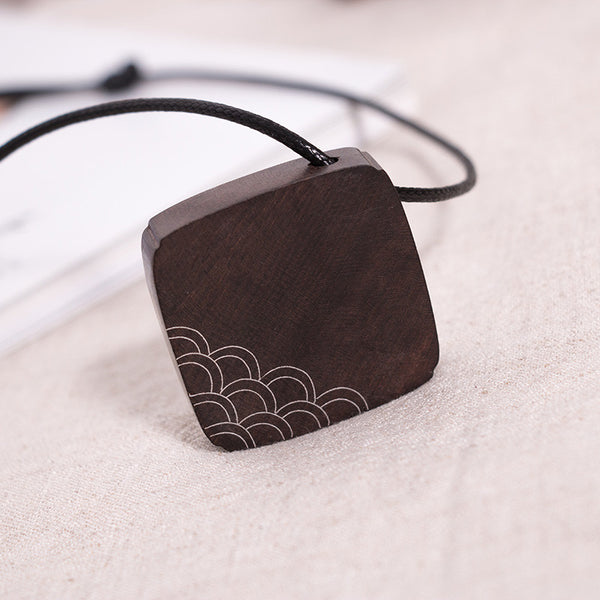 Wooden Casual Retro Women Necklaces