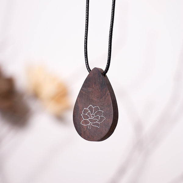Wooden Retro Women Necklaces