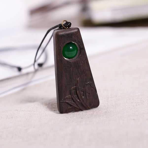 Wooden Casual Women Retro Necklaces