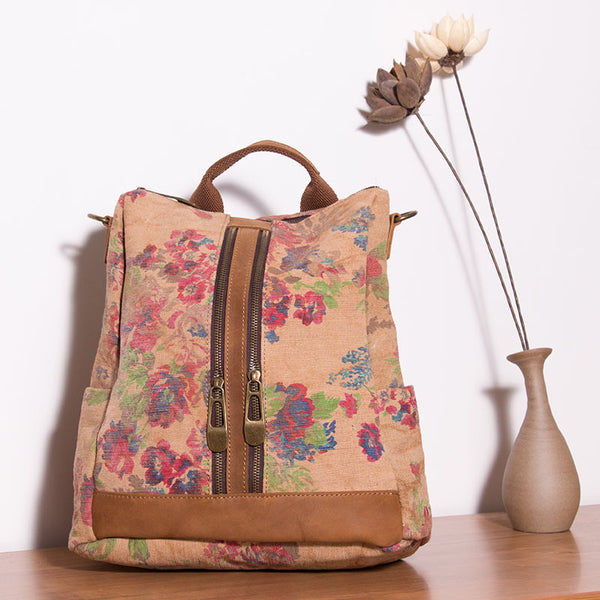 Casual Floral Women Backpack
